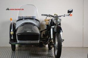 1965 MZ ES 250/1 with sidecar, 16 hp, 244 cc