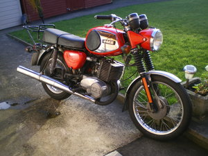 MZ TS 250cc Supa 5, 1977, Nice Original Machine !!