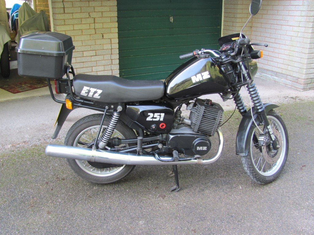 MZ 1992 ETZ251 2 stroke For Sale (picture 1 of 5)