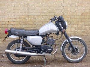 1988  MZ ETZ 125cc