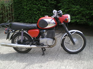 MZ TS 250 Supa 5 , Fitted with Twin Leading Shoe Brake