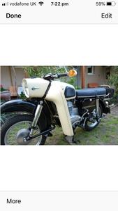 1972 MZ Trophy ES 250