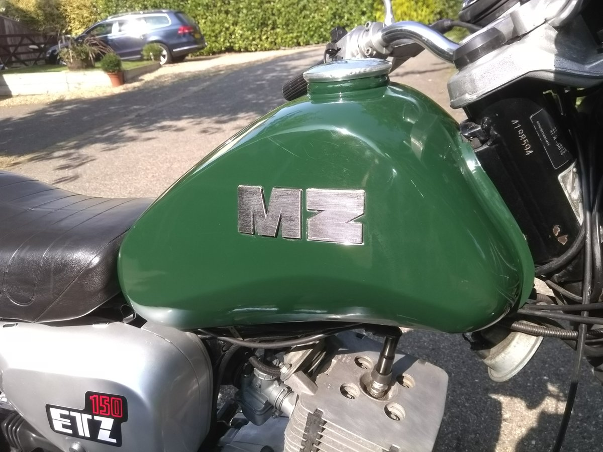 1991 MZ ETZ 150 For Sale (picture 1 of 6)