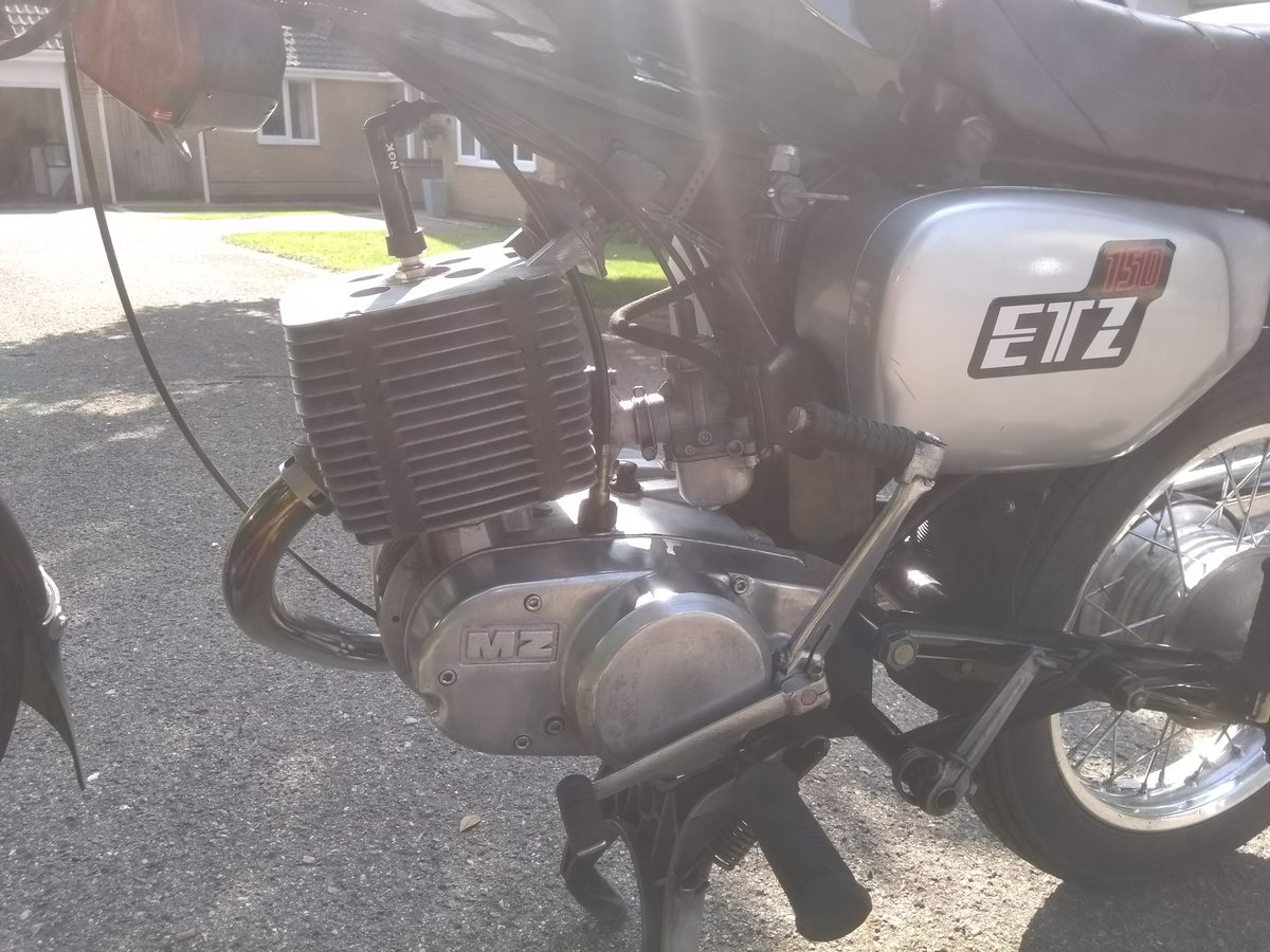 1991 MZ ETZ 150 For Sale (picture 2 of 6)