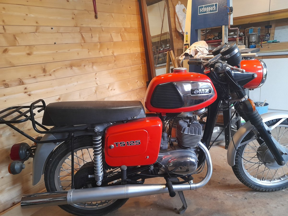 1988 MZ TS125 For Sale (picture 1 of 9)