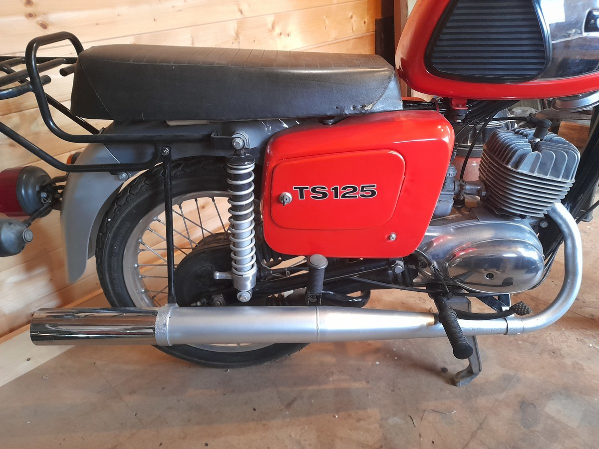 1988 MZ TS125 For Sale (picture 2 of 9)