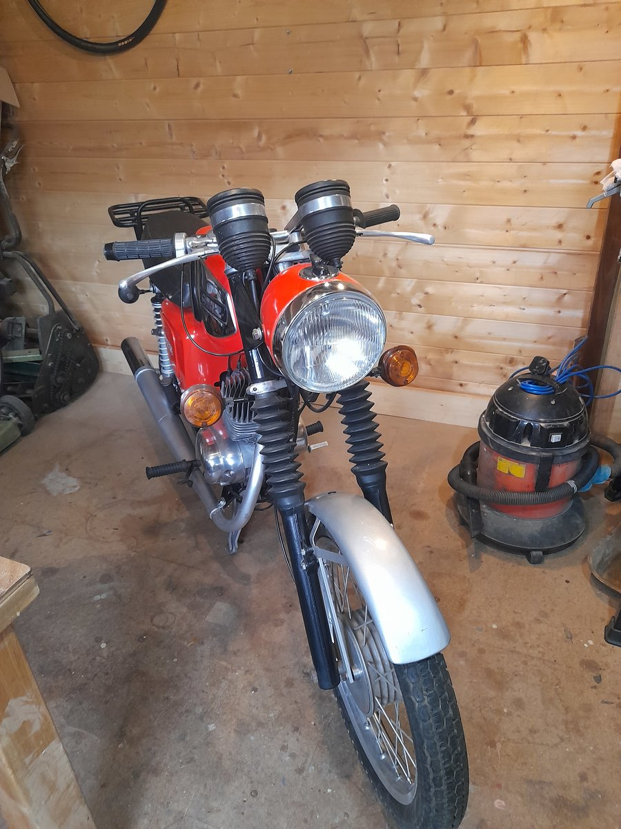 1988 MZ TS125 For Sale (picture 4 of 9)