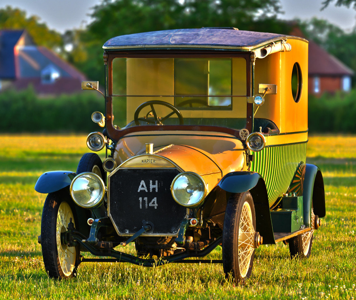 """1914 Napier T64 """"Gentleman's Estate Carriage""""  For Sale (picture 1 of 6)"""