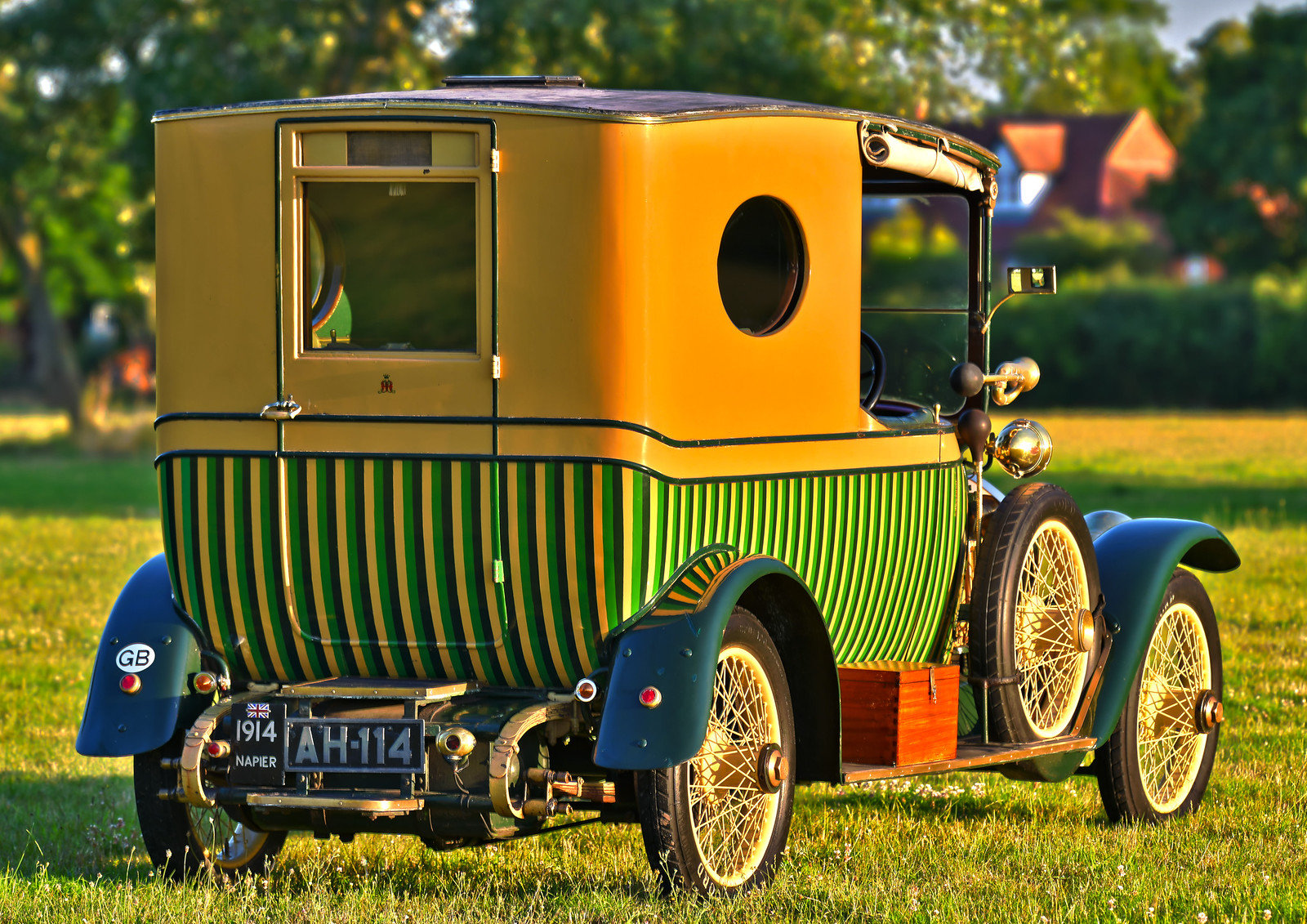 """1914 Napier T64 """"Gentleman's Estate Carriage""""  For Sale (picture 2 of 6)"""