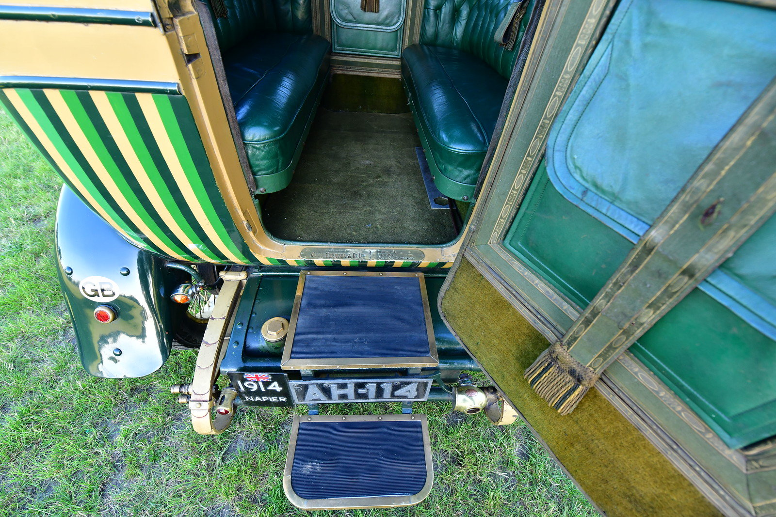 """1914 Napier T64 """"Gentleman's Estate Carriage""""  For Sale (picture 4 of 6)"""