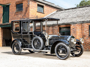 1908 NAPIER 45HP TYPE 23 SIX-CYLINDER OPEN DRIVE LIMOUSINE For Sale by Auction
