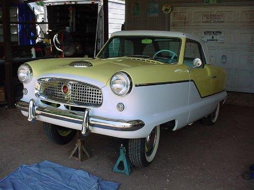 1959 Nash Metropolitan Convertible For Sale (picture 1 of 6)