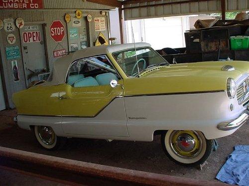 1959 Nash Metropolitan Convertible For Sale (picture 2 of 6)