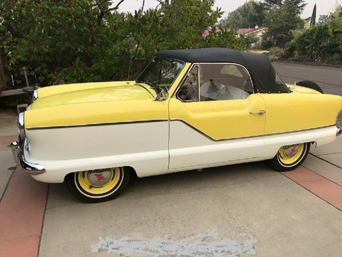 1960 Nash Metropolitan Convertible  For Sale (picture 1 of 6)