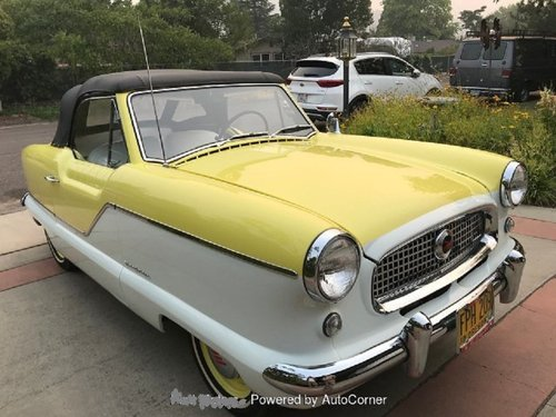 1960 Nash Metropolitan Convertible  For Sale (picture 2 of 6)