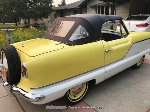 1960 Nash Metropolitan Convertible  For Sale (picture 3 of 6)