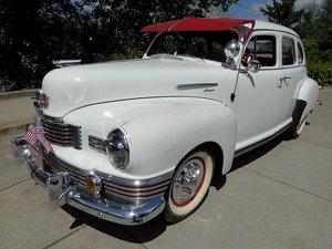 1947 Nash 600 SUPER = Clean Restored Ivory Driver $13.5k For Sale