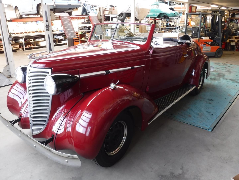 1937 Nash Lafayette cabrio For Sale (picture 6 of 6)