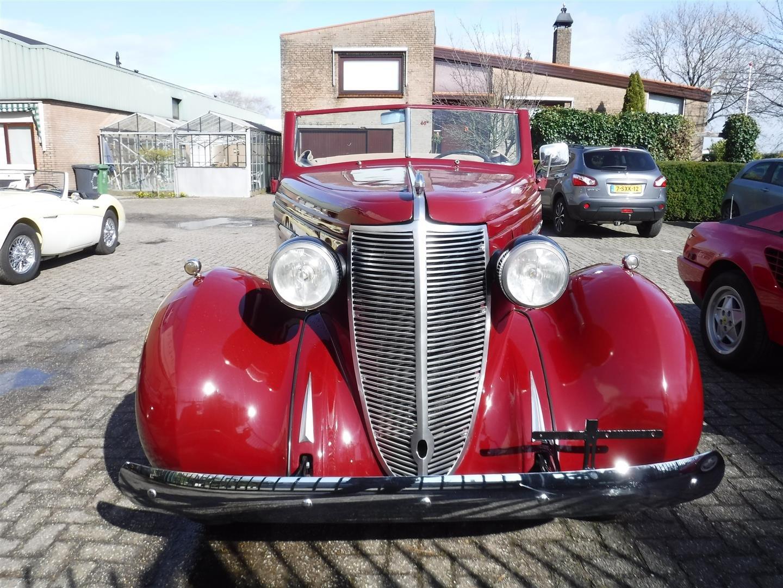 1937 Nash Lafayette cabrio For Sale (picture 5 of 6)