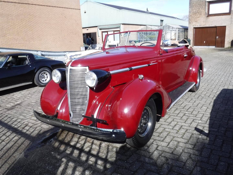 1937 Nash Lafayette cabrio For Sale (picture 1 of 6)
