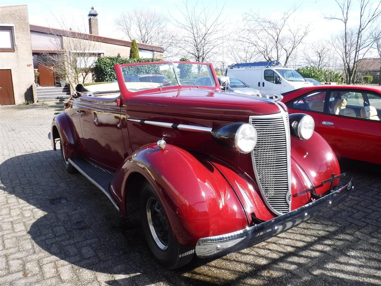 1937 Nash Lafayette cabrio For Sale (picture 2 of 6)