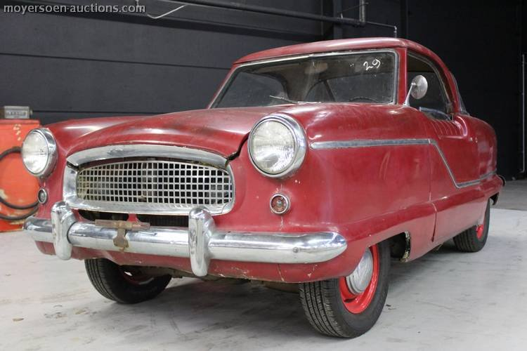 1958 NASH Metropolitan For Sale by Auction (picture 1 of 4)