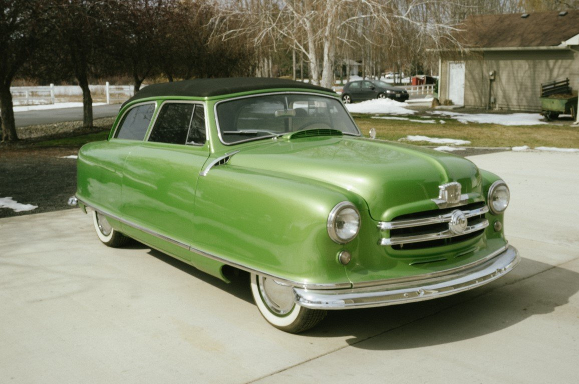 1951 Nash Rambler Airflyte Convertible NO RESERVE For Sale by Auction (picture 1 of 6)