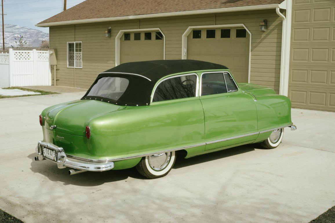1951 Nash Rambler Airflyte Convertible NO RESERVE For Sale by Auction (picture 2 of 6)