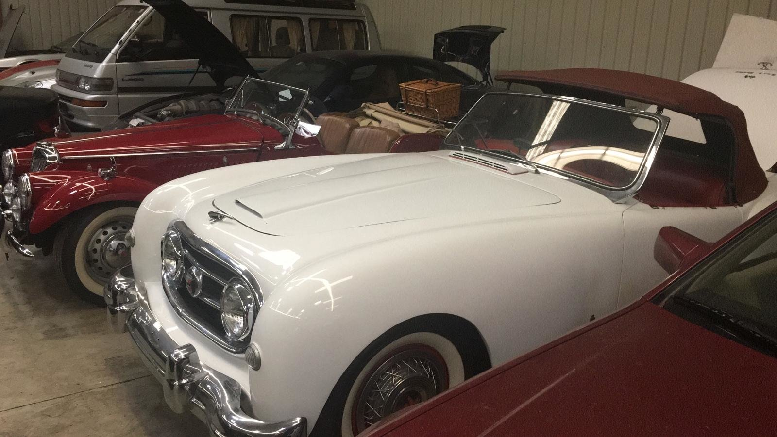 1953 REDUCED - NASH-HEALEY ROADSTER IN AUSTRIA For Sale (picture 1 of 6)