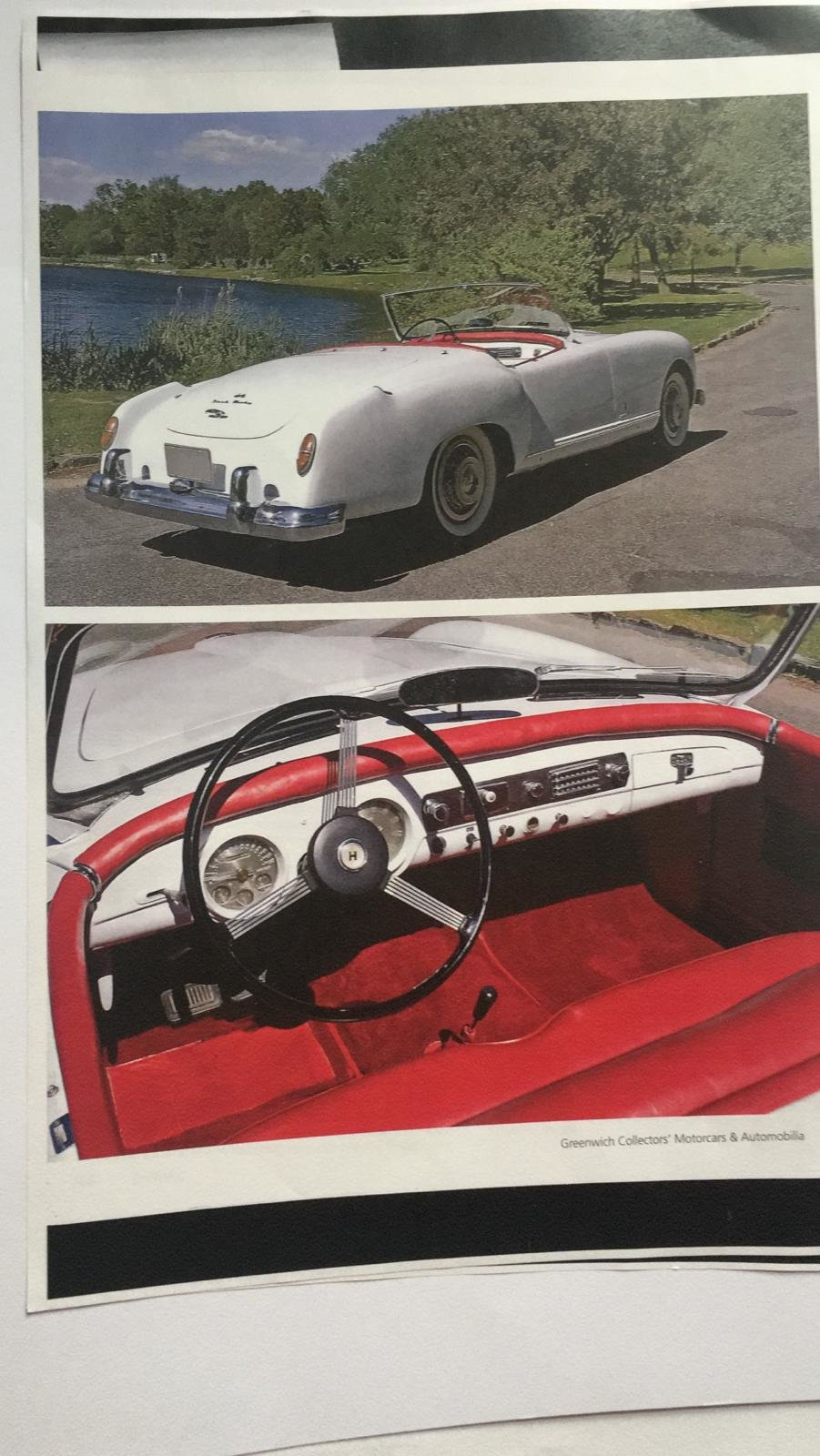 1953 REDUCED - NASH-HEALEY ROADSTER IN AUSTRIA For Sale (picture 3 of 6)