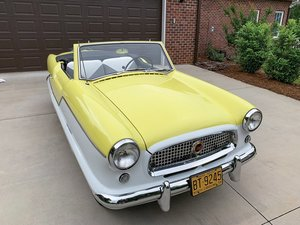 1958 Nash Metropolitan 1500 Series II Convertible  For Sale by Auction