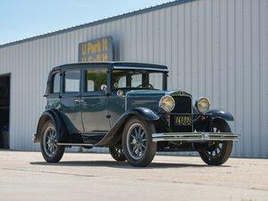 1929 Nash Series 420 Standard Six Landau Sedan  For Sale by Auction