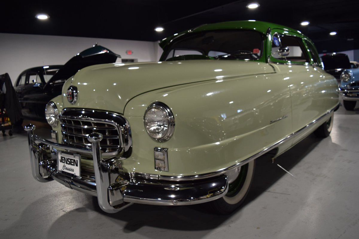 1950 Nash Statesman Airflyte For Sale (picture 1 of 6)