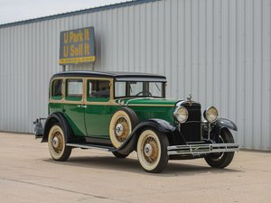 1930 Nash Series 490 Twin Ignition Eight Five-Passenger Seda For Sale by Auction