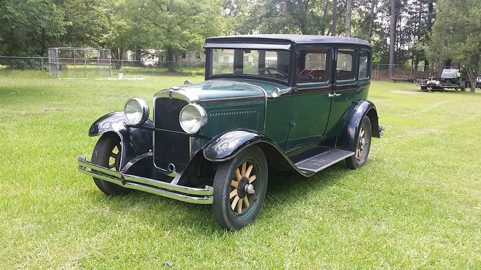 1929 Nash Model 420 Standard Six 4 Door Sedan For Sale (picture 1 of 6)