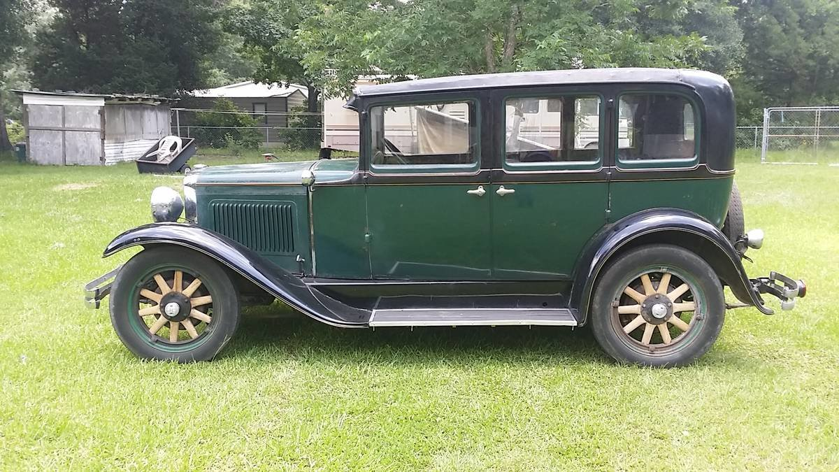 1929 Nash Model 420 Standard Six 4 Door Sedan For Sale (picture 2 of 6)