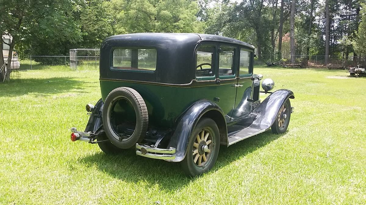 1929 Nash Model 420 Standard Six 4 Door Sedan For Sale (picture 3 of 6)