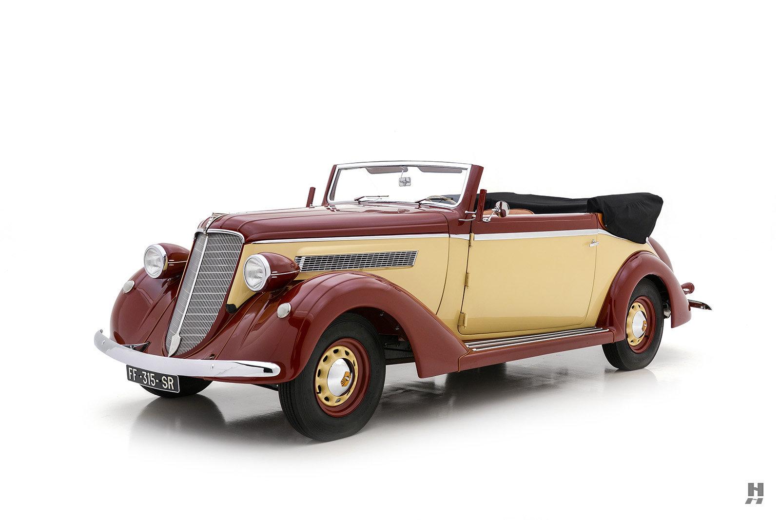 1935 NASH AMBASSADOR GLÄSER CABRIOLET For Sale (picture 1 of 6)