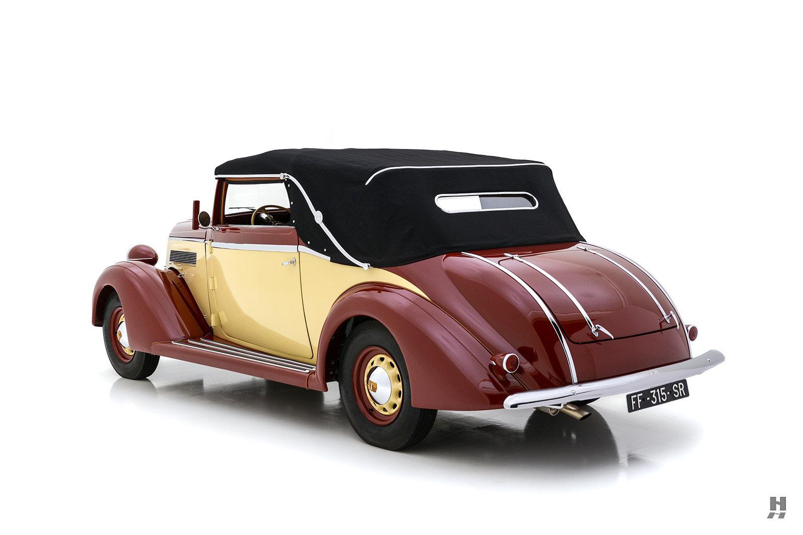 1935 NASH AMBASSADOR GLÄSER CABRIOLET For Sale (picture 6 of 6)