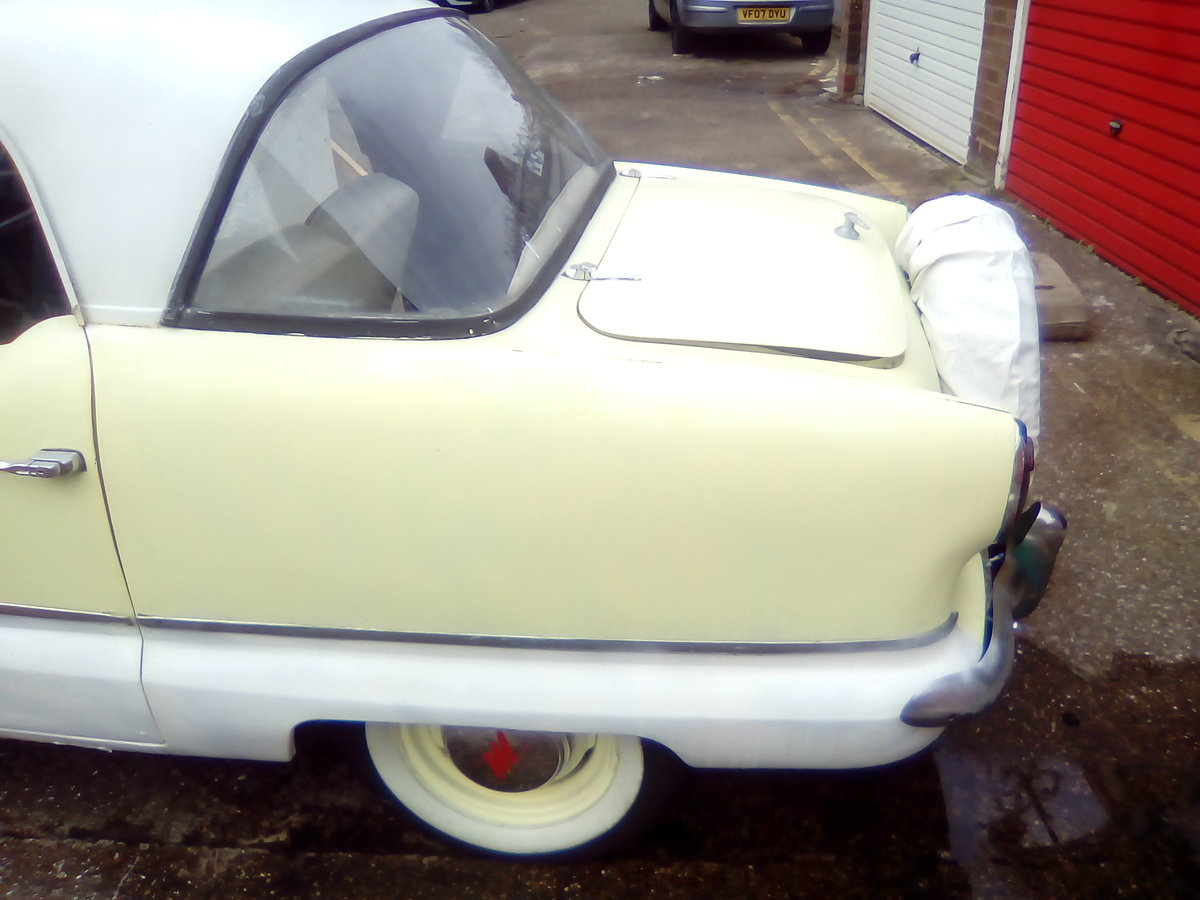 1959 Metropoltan Coupe lhd automatic  Reg.791 XVD For Sale (picture 2 of 6)