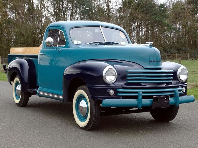 A unique 1946 Nash P1 Pickup SOLD (picture 1 of 6)