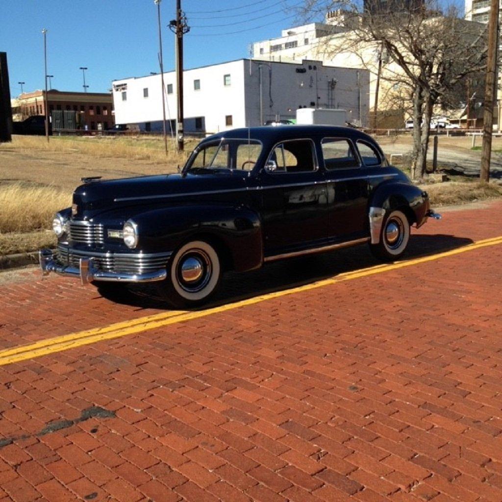 1947 Nash Ambassador 4DR Sedan For Sale (picture 1 of 6)