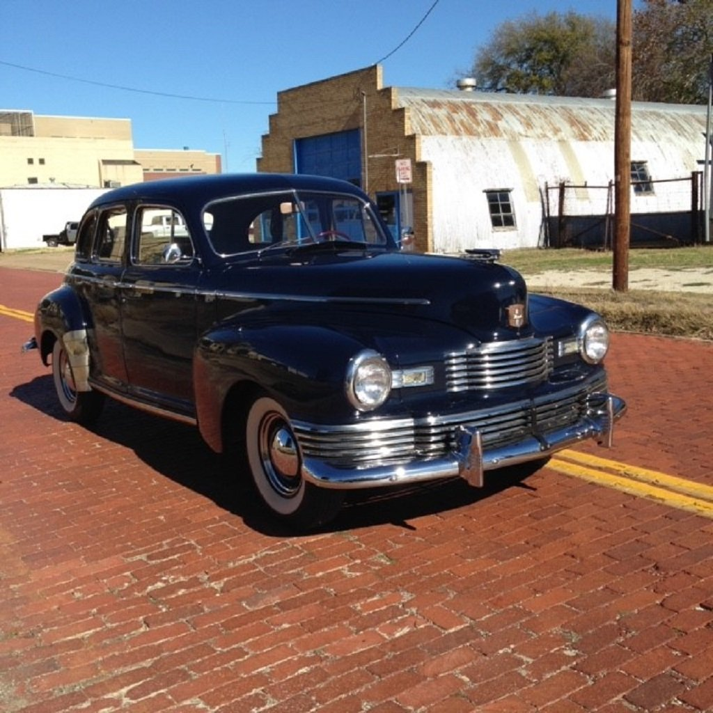 1947 Nash Ambassador 4DR Sedan For Sale (picture 2 of 6)