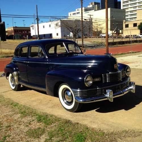 1947 Nash Ambassador 4DR Sedan For Sale (picture 1 of 5)