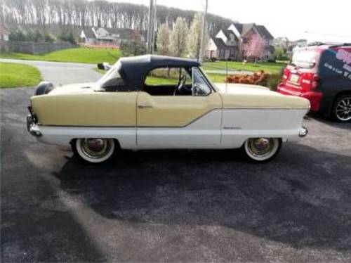 1959 Nash Metropolitan Convertible For Sale (picture 1 of 1)