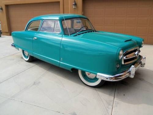 1954 Nash Airflyte 2DR For Sale (picture 1 of 6)