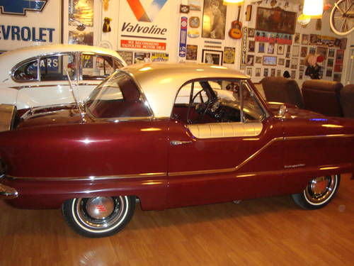 1960 Nash Metropolitan Coupe For Sale (picture 1 of 6)
