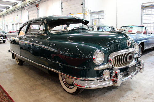 1952 Nash Statesman Airflyte LHD 6 cyl. For Sale (picture 1 of 6)