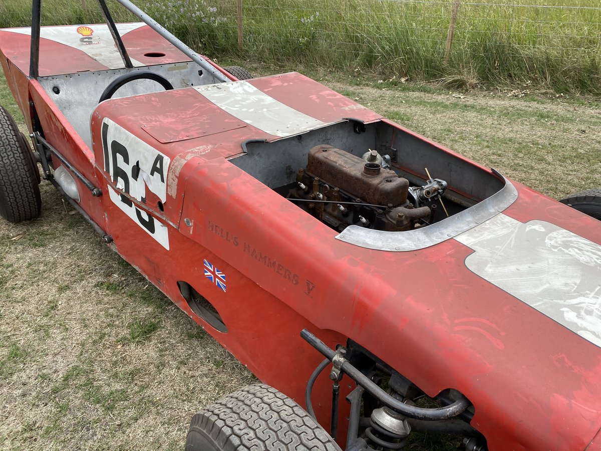 1960s Nike Historic Race Car ( Hell's Hammers 5) For Sale (picture 4 of 6)