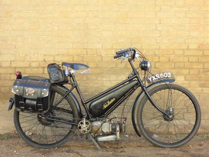 1947 New Hudson Autocycle 98cc SOLD
